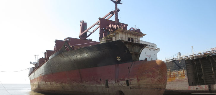 Leading the way in sustainable ship recycling