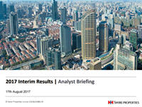 2017 Interim Results Analyst Briefing presentation