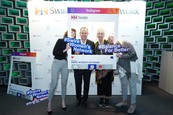 Merlin Swire, Chairman of John Swire & Sons (HK), taking part in the group's International Women's Day Event.