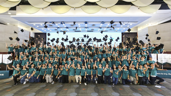 The graduation ceremony for I Can Fly 2019.